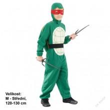 Dětský karnevalový kostým želva ninja 120 - 130 cm ( 5 - 9 let )